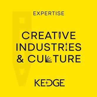 Logo Expertise Creative Industries & Culture-KEDGE BS